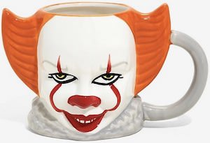 Pennywise Clown Face Mug