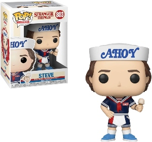 Stranger Things Steve Ice Cream Funko Pop Figurine
