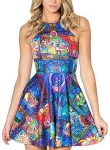 Beauty And The Beast Stained Glass Dress