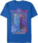 Frozen Anna And Elsa Holding Hands T-Shirt