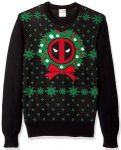 Deadpool Wreath Ugly Christmas Sweater