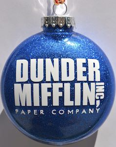 Dunder Mifflin Christmas Ornament