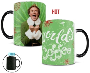 Elf Best Cup Of Coffee Heat Change Mug