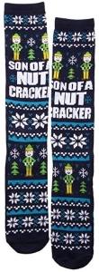 Elf Son Of A Nutcracker Knee High Socks