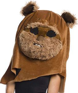Giant Plush Ewok Head