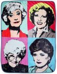Golden Girls Throw Blanket