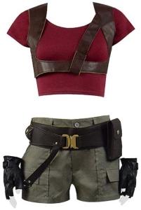 Jumanji Ruby Roundhouse Costume