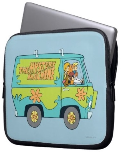 Mystery Machine Laptop Sleeve
