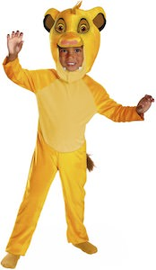 The Lion King Simba Kids Costume