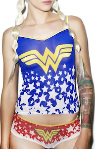 Wonder Woman Sleep Set