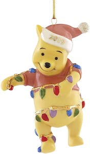 2019 Winnie the Pooh Christmas Ornament