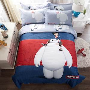 Big Hero 6 Duvet Cover Set
