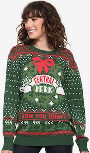 Central Perk Christmas sweater
