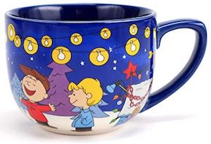 Charlie Brown Christmas Mug