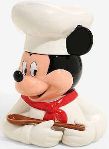 Disney Chef Mickey Cookie Jar