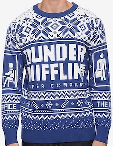 The Office Dunder Mifflin Christmas Sweater