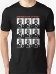 Brooklyn Nine-Nine Expressions Of Captain Holt T-Shirt