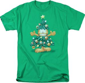 Garfield Christmas Tree T-Shirt