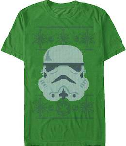 Green Stormtrooper Christmas T-Shirt