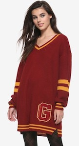 Harry Potter Gryffindor Sweater Dress