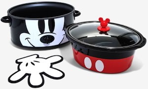 Mickey Mouse Slow Cooker