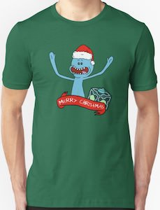 Mr. Meeseeks Christmas T-Shirt