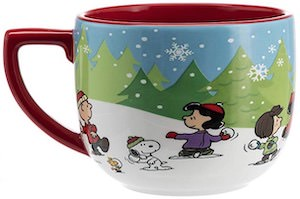 Peanuts Snowball Fight Mug