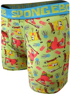 SpongeBob And Patrick Boxer Shorts