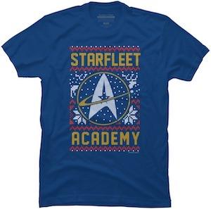 Star Trek Starfleet Academy Holiday T-Shirt