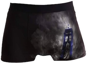 Tardis And Doctor In The Mist Boxers Shorts
