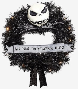 The Nightmare Before Christmas Door Wreath