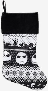 The Nightmare Before Christmas Fair Isle Stocking