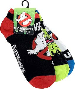 3 Pairs Of Ghostbusters Socks