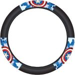 Marvel Captain America Shield Steering Wheel Cover