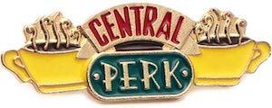 Central Perk Logo Pin