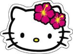 Hello Kitty WIth Flowers Stickers