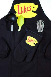 Luke's Diner Apron And Oven Mitt