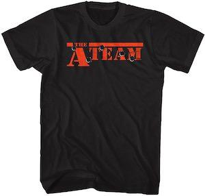 The A-Team Bullet Hole Logo T-Shirt