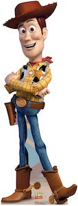 Toy Story Woody Cardboard Cutout