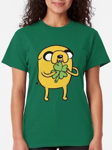 Adventure Time Jake St Patrick's Day T-Shirt