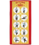 Bob's Burgers Dancing Teddy Beach Towel