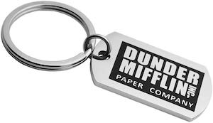 Dunder Mifflin Key Chain