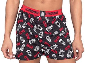 Doctor Who Dalek Boxers Shorts