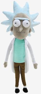 Rick Plush from rick and morty