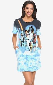 Star Wars Movie T-Shirt Style Dress