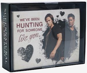 Supernatural Valentine's Day Cards Set