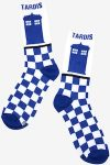 Doctor Who Blue And White Tardis Socks