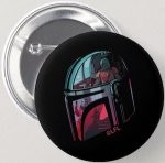Star Wars Button Of The Mandalorian