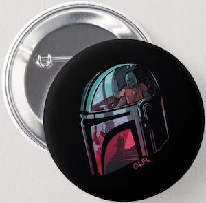 Button Of The Mandalorian