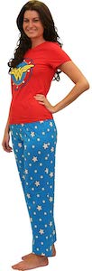 Women's Wonder Woman Pajama Set